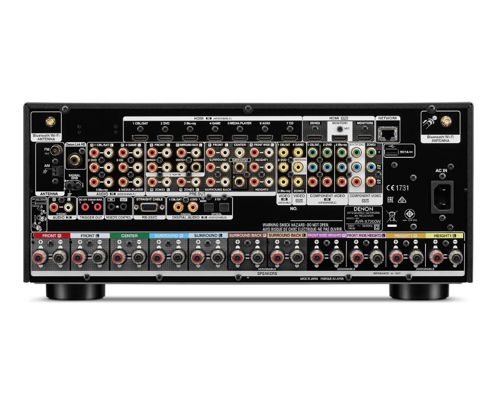 Denon AV Receiver AVR-X7200W
