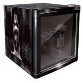 Mini Frigider Husky Coolcube HUS-CC 182 Afri-Cola, Capacitate 50 L, Clasa A+, H 51 cm, Negru