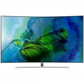 Televizor QLED Curbat Smart Samsung, 138 cm, 55Q8C, 4K Ultra HD