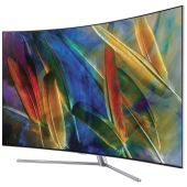 Televizor QLED Curbat Smart Samsung, 163 cm, 65Q7C, 4K Ultra HD
