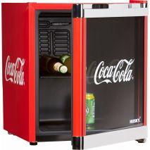 Mini Frigider Husky Coolcube HUS-CC 165 Coca-Cola, Capacitate 50 L, Clasa A+, H 51 cm, Rosu