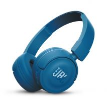 Casti audio on-ear cu microfon JBL T450, Bluetooth, Blue