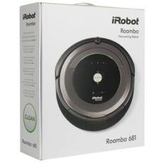 iRobot Roomba 681, Capacitate colectare 0.6L, Filtru AeroVac din microfibre
