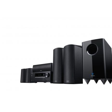 Onkyo HT-S5805 Home Cinema, 5.1.2 Channel Dolby Atmos, 4K Ultra HD, Bluetooth, Negru