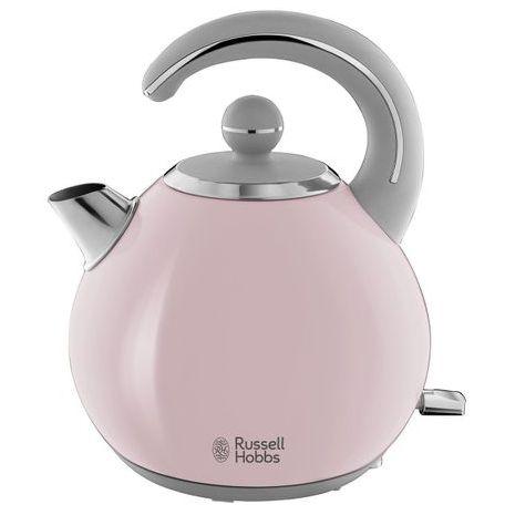 Russell Hobbs Bubble , fierbator Soft Pink 24402-70, 2400 W, 1.5 l, Inox, Roz